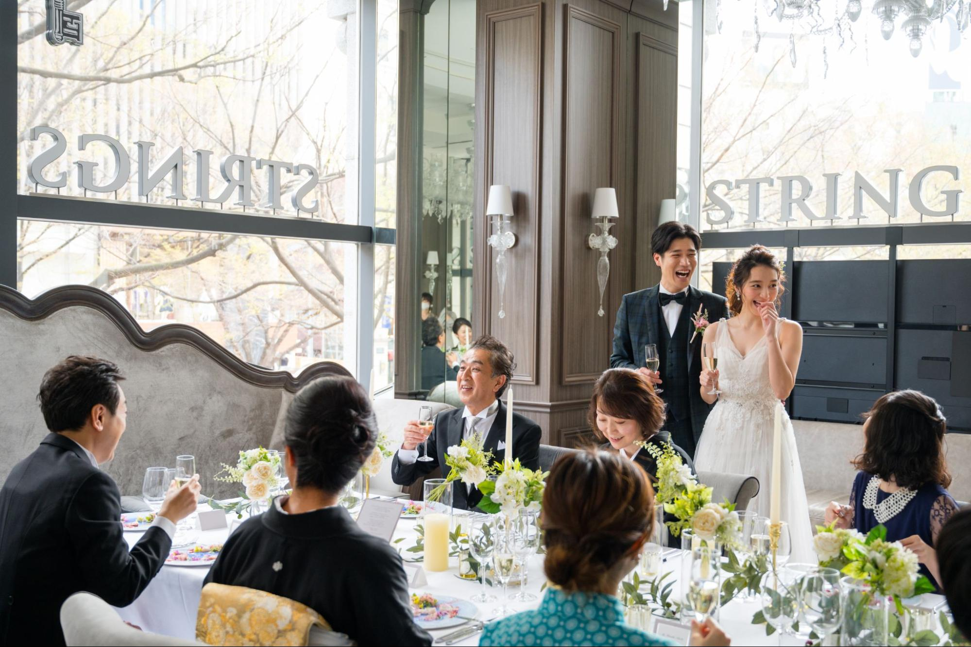 少人数結婚式ならでは!おすすめの演出